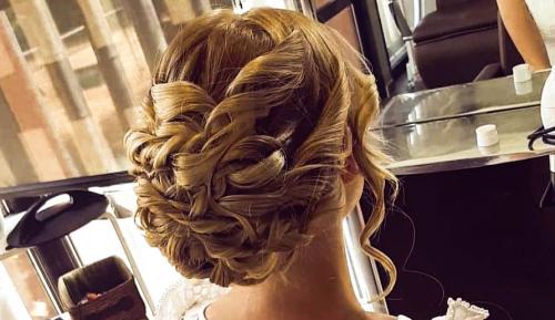 Votre coiffure de mariage au Nid'O